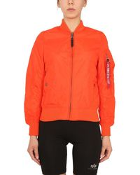 Alpha Industries Other Materials Outerwear Jacket - Red