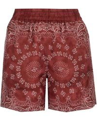 Golden Goose Deluxe Brand Other Materials Shorts - Red