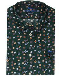 Harmont & Blaine Multicolour Cotton Shirt - Green