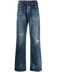 Celine Céline 2n397229n08mt Cotton Jeans - Blue