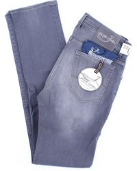 Jacob Cohen Jeans modell 688 in grau