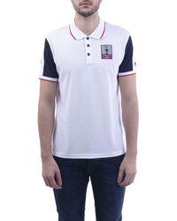Prada White Polyester Polo Shirt