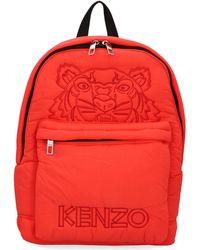 KENZO Tiger Logo Embroidered Backpack