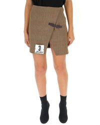 Off-White c/o Virgil Abloh Beige Polyester Skirt - Natural