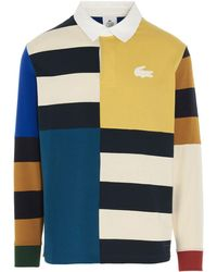 Lacoste ANDERE MATERIALIEN POLOSHIRT - Mehrfarbig