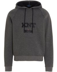 Kiton Umm0220006 andere materialien sweatshirt - Grau