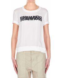 DSquared² Silk T-shirt - White