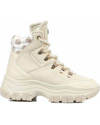 Guess Fl8bevfal12 Ankle Boots - White