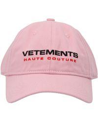 Vetements ANDERE MATERIALIEN HUT - Pink