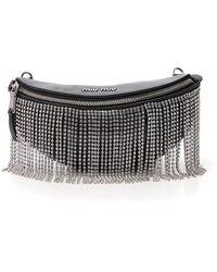 Miu Miu Leather Travel Bag - Black