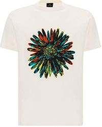 Paul Smith ANDERE MATERIALIEN T-SHIRT - Weiß