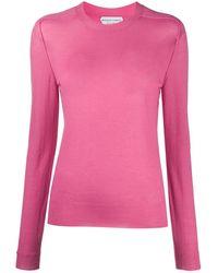 Bottega Veneta Cashmere Jumper - Pink