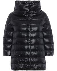 Herno Black Polyamide Down Jacket
