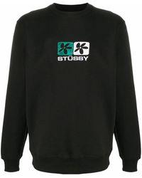 Stussy - BAUMWOLLE SWEATSHIRT - Lyst