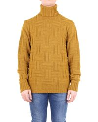 Jeordie's Yellow Wool Sweater