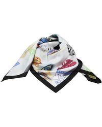 KENZO Multicolour Silk Foulard