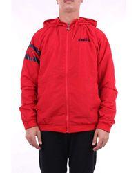 Diadora Jackets Short - Red
