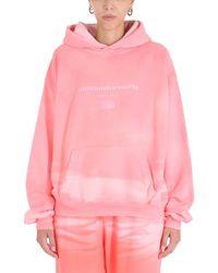 Alexander Wang ANDERE MATERIALIEN SWEATSHIRT - Pink