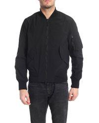 Aspesi Black Polyamide Outerwear Jacket