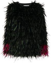 Dries Van Noten Wool Coat - Black
