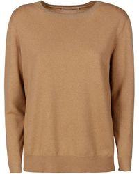 Fabiana Filippi Mad221w018f4551230 wolle sweater - Natur