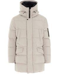 Moorer Polyamide Outerwear Jacket - Natural