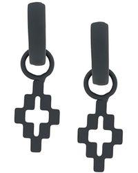 Marcelo Burlon Metal Earrings - Grey