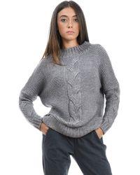 Snobby Sheep Grey Polyester Jumper - Gray