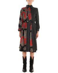 Junya Watanabe Black Polyester Dress