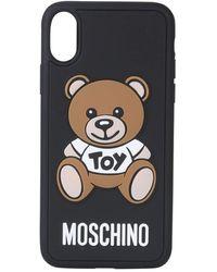Moschino Black Pvc Cover