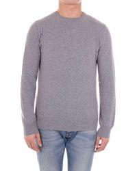 Andrea Fenzi Bi501g01light Wool Sweater - Gray