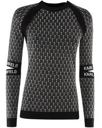 Karl Lagerfeld - Viscose T-shirt - Lyst