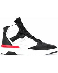 Givenchy High Sneakers Wing - Schwarz