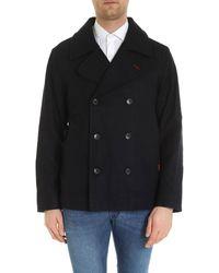 Brooks Brothers Blue Wool Coat