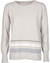 Fabiana Filippi - Grey Wool Sweater - Lyst