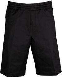 Neil Barrett - Cotton Shorts - Lyst