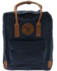 Fjallraven Blue Polyester Backpack
