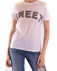 Sweet Matilda White Cotton T-shirt