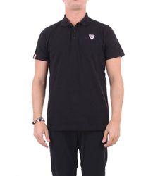 Rossignol Polo Shirt Short Sleeves - Black