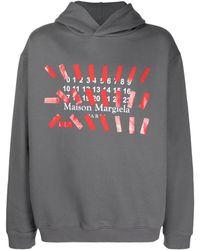 Maison Margiela Cotton Sweatshirt - Grey