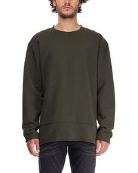 BLK DNM - Green Cotton Sweatshirt - Lyst