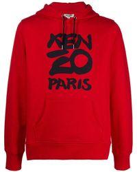 KENZO Red Cotton Sweatshirt