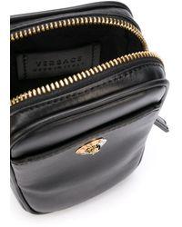 Versace Mini-Tasche mit Medusa - Schwarz