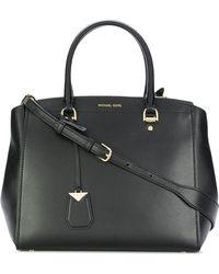 Michael Kors Black Leather Handbag