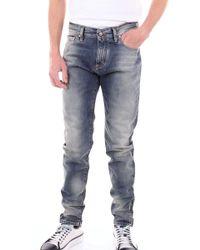 Represent Blue Cotton Jeans