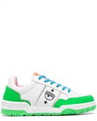 Chiara Ferragni Sneakers con design color-block - Bianco