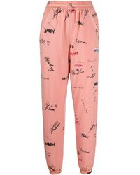adidas POLYAMID JOGGERS - Pink