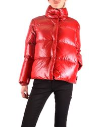 Duvetica Red Polyester Down Jacket