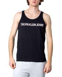 Calvin Klein BAUMWOLLE TANK TOP - Schwarz