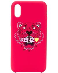 KENZO Red Pvc Cover